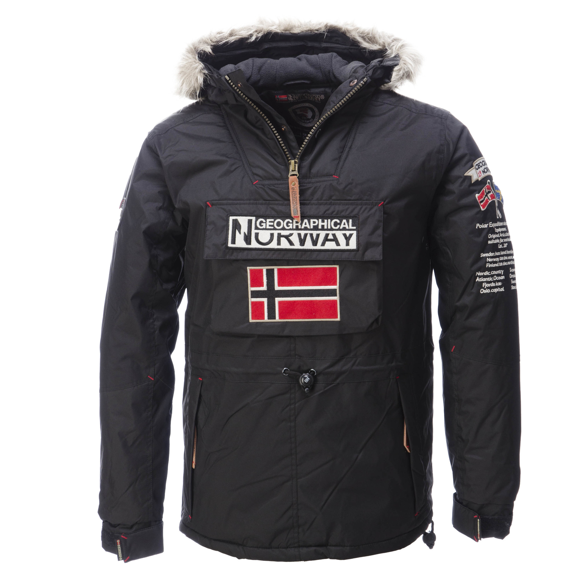 Geographical Norway Bamidbar Padded Anorak Ski Jacket