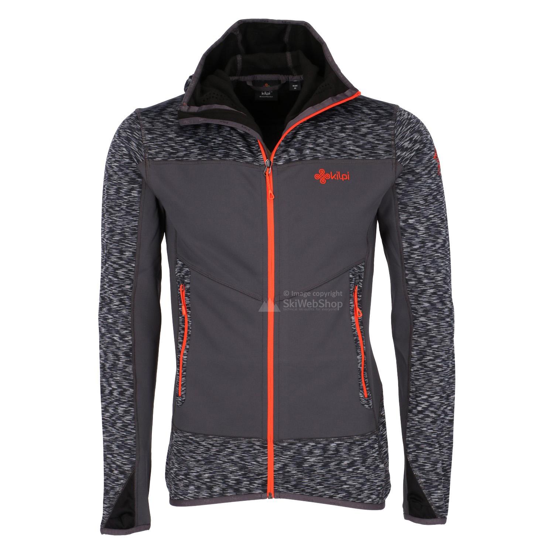 Kilpi, Assasin, fleece jacket, men, plus size grey