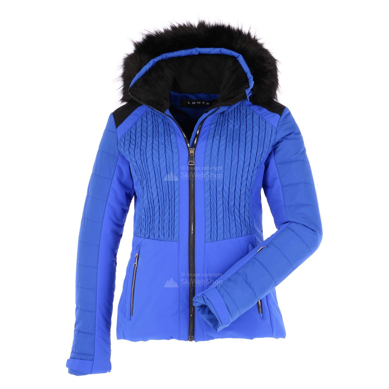 Luhta Beta Slim Fit Ski Jacket Women Royal Blue