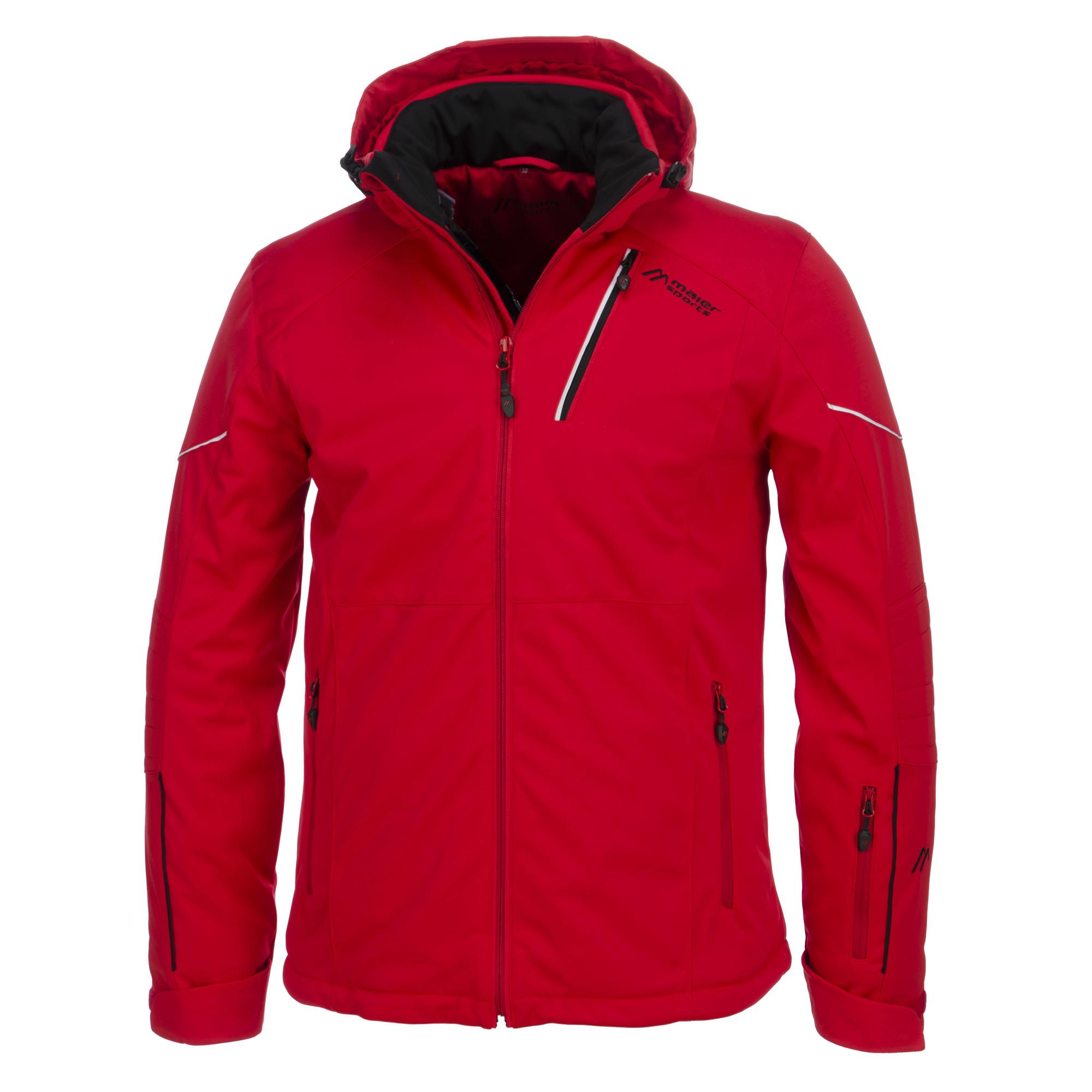 Maier Sports Killington Ski Jacket Men Plus Size Red