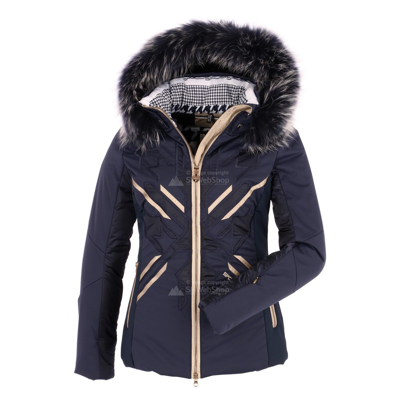 sportalm eyko ski jacket women sky captain dark blue. Black Bedroom Furniture Sets. Home Design Ideas
