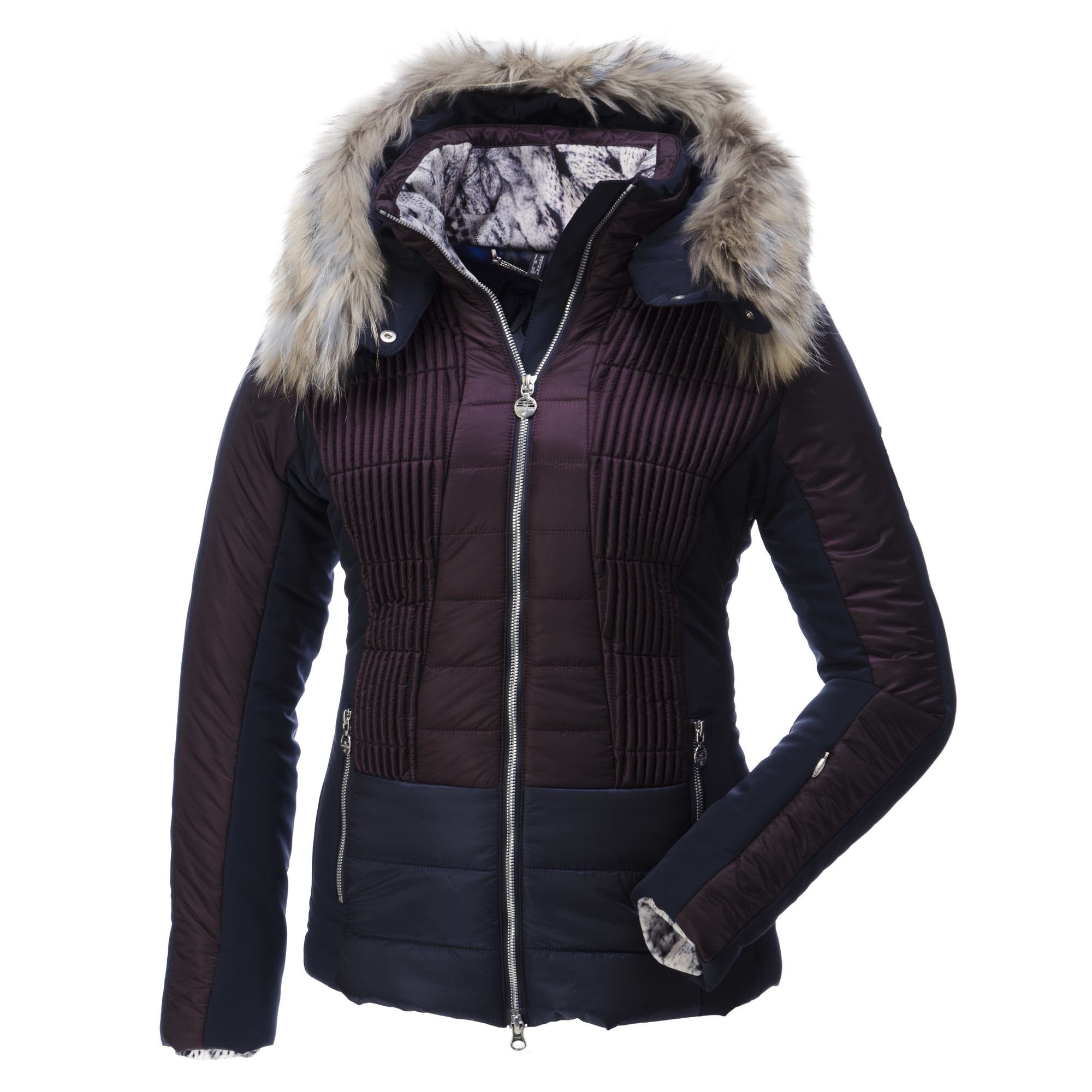 sportalm kitzb hel dushin ski jacket woman purple. Black Bedroom Furniture Sets. Home Design Ideas