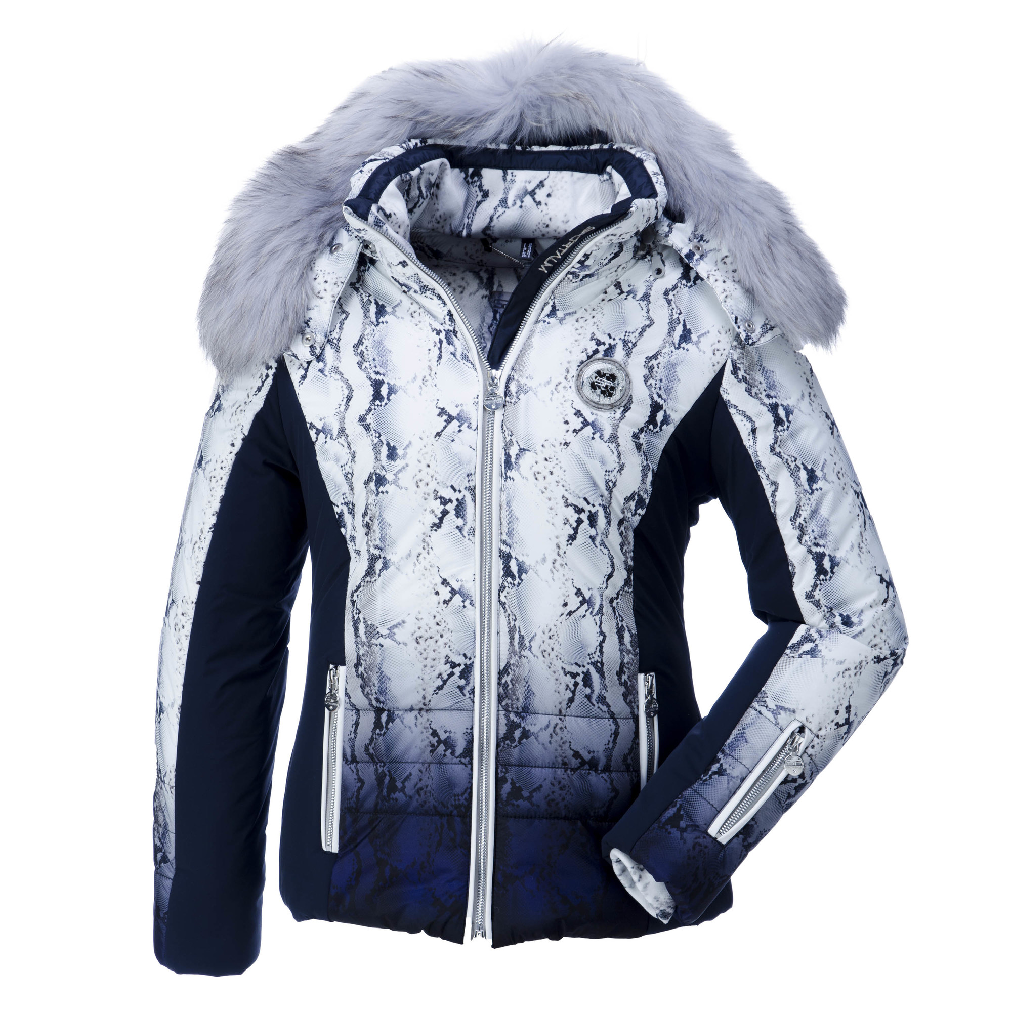 sportalm kitzbuhel floomy ski jacket women blue. Black Bedroom Furniture Sets. Home Design Ideas