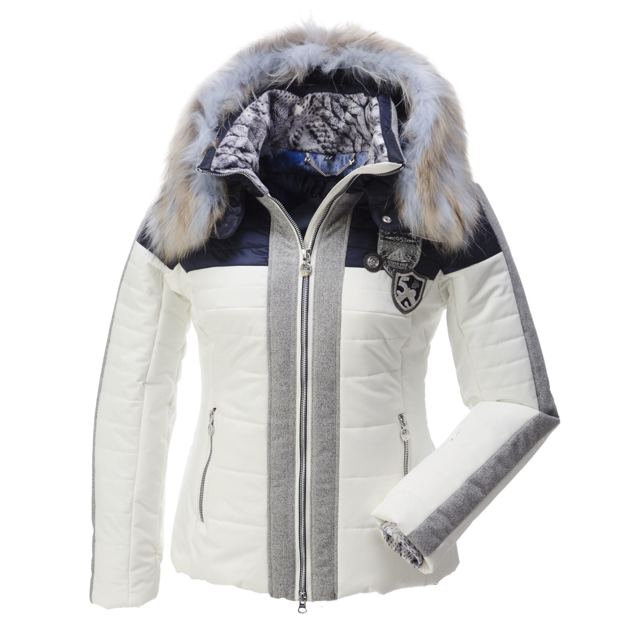 sportalm kitzb hel lucha ski jacket women white black. Black Bedroom Furniture Sets. Home Design Ideas
