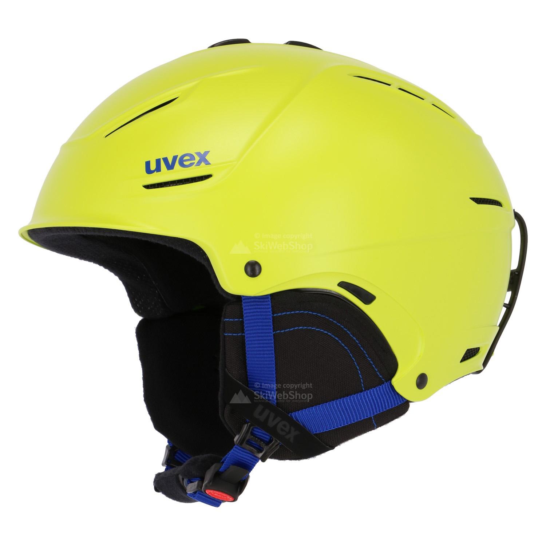 uvex p1us 2 0 skihelm mat lime 01 825